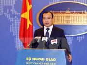 Le Vietnam demande à la Chine de mettre fin aux actions complixifiant la situation en Mer Orientale
