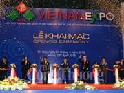 Ouverture de la foire Vietnam Expo 2016 à Hanoi