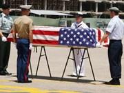Guerre au Vietnam : rapatriement de restes d'un soldat américain porté disparu