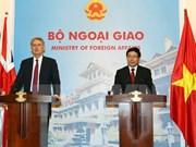L'accord de libre échange Vietnam-UE favorise la coopération Vietnam-Royaume-Uni