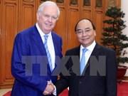 Le PM Nguyen Xuan Phuc reçoit un professeur de l'Université de Harvard