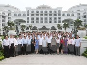 Le leader du Parti communiste du Vietnam en tournée à Quang Ninh