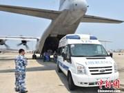 La Chine déploie un avion de transport sur le récif de Chu Thap
