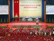 Conférence nationale sur la résolution du XIIe Congrès national du Parti