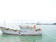 Un bateau de pêche chinois sauvé au large de Thua Thien-Hue