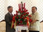 L'ambassadeur du Vietnam félicite le nouveau président du Laos