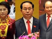 Félicitations aux nouveaux dirigeants vietnamiens
