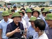 Un vice-PM demande d'enquêter sur l'afflux de poissons morts