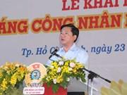 Ouverture du 8e Mois des ouvriers à Hô Chi Minh-Ville