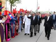 Message de remerciement du leader du PPRL aux dirigeants vietnamiens