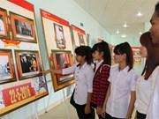 """Binh Phuoc : exposition """"70 ans de l'Assemblée nationale du Vietnam"""""""