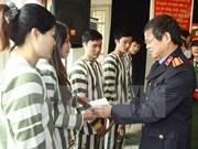 Hanoi : amnistie de détenus à l'occasion du 30 avril