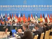 Le Vietnam à la réunion des ministres des Affaires étrangères de la CICA
