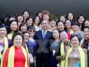 Le Premier ministre rencontre les femmes entrepreneures