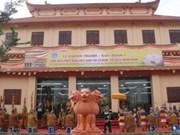 Inauguration de l'Institut de bouddhisme du Vietnam d'Ho Chi Minh-Ville