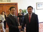 Ho Chi Minh-Ville et Shanghai intensifient leur coopération