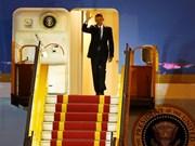 Le président américain Barack Obama entame sa visite officielle au Vietnam
