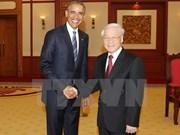 Vietnam et Etats-Unis réaffirment l'engagement d'approfondir le Partenariat intégral
