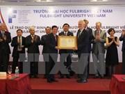 Création de l'Université Fulbright Vietnam