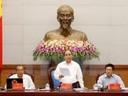 La réunion périodique du gouvernement consacrée au perfectionnement de l'institution