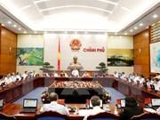 Le gouvernement discute de la situation socio-économique au début de 2016