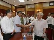 Le chef du Parti exhorte Tay Ninh à exploiter au mieux ses potentiels