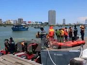 Naufrage d'un bateau à Da Nang : trois portés disparus ont été retrouvés morts