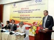 Vietnam-Allemagne : les avocats partagent leurs expériences professionnelles