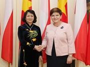 La vice-présidente du Vietnam rencontre des dirigeantes polonaises