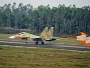 Recherche de l'avion disparu en mission d'entraînement