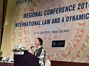 """Conférence sur le """"Droit international et une Asie dynamique"""""""