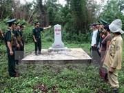 Bilan du projet de densification des bornes frontalières entre Quang Tri, Savannakhet et Saravane