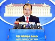Le Vietnam demande à la Chine de mettre fin à ses actes illégaux sur Hoang Sa et Truong Sa