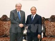 Nguyen Xuan Phuc reçoit l'ancien Premier ministre australien Kevin Rudd