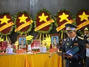 Le PM laotien transmet ses condoléances sur les accidents d'avions militaires