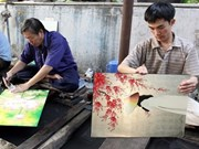 La laque poncée, un métier artisanal et peut-être futur patrimoine culturel immatériel