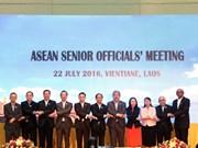 La SOM de l'ASEAN affirme l'importance du renforcement de la solidarité et de l'unité