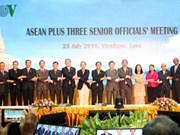 Des réunions de hauts officiels de l'ASEAN + 3 et de l'EAS au Laos