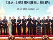 Mer Orientale : l'ASEAN et la Chine adoptent une déclaration commune sur la DOC