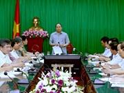 Nam Dinh doit rétablir au plus vite la production après le typhon Mirinae
