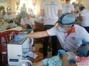 Programme de charité pour les pauvres et victimes de l'agent orange