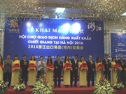 Foire des produits d'export du Zhejiang à Hanoi