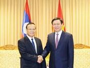 Renforcement de la coopération avec le Laos dans les finances publiques
