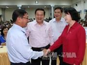La présidente de l'Assemblée nationale poursuit ses activités à Can Tho