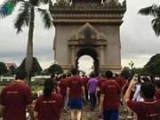 Une marche à Vientiane pour marquer le 49e anniversaire de l'ASEAN