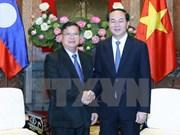 Le chef de l'Etat reçoit le vice-président de l'Assemblée nationale laotienne