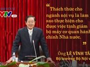 Réforme administrative, clé d'un gouvernement développementaliste