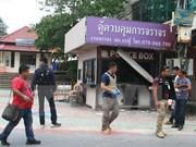 La Thaïlande émet un mandat d'arrêt contre un 2e suspect des derniers attentats