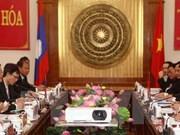 Le vice-président de l'AN laotienne à Thanh Hoa