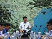 Pour limiter les dégâts du typhon Dianmu